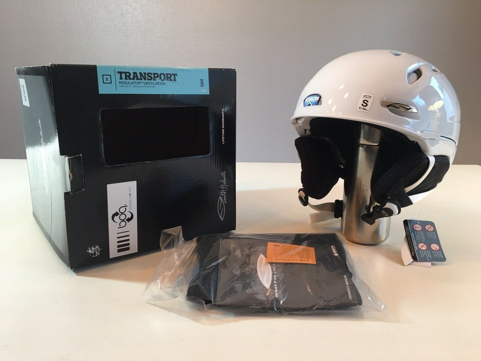 Brand New  Smith Transport Helmet  new listing