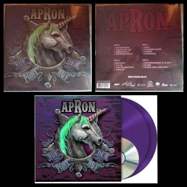 Apron -  Auf dem Ponyhof -  2 x Vinilo + CD -  LP Color -  Metal