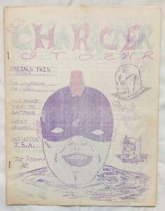 Rare-Fanzine-CHARACTER-GET-TOGETHER-1-1963-I-W-Super-Comics-Info-Batman