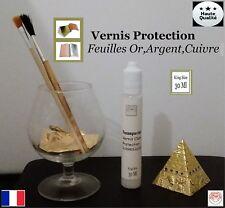 Vernis Protections clair pour feuille d'or et de métal (30 ml) King Size
