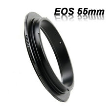 1x 55mm Objektiv Makro Adapter Ring Umkehrring Makroring für Canon EOS EF 6D Neu