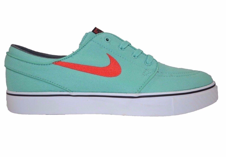 Nike ZOOM STEFAN JANOSKI Canvas Crystal Mint Skate 615957-300 (379) Men's Shoes