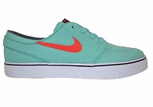 wholesale dealer 49f1c e4672 Image is loading Nike-ZOOM-STEFAN-JANOSKI-Canvas-Crystal-Mint-Skate-