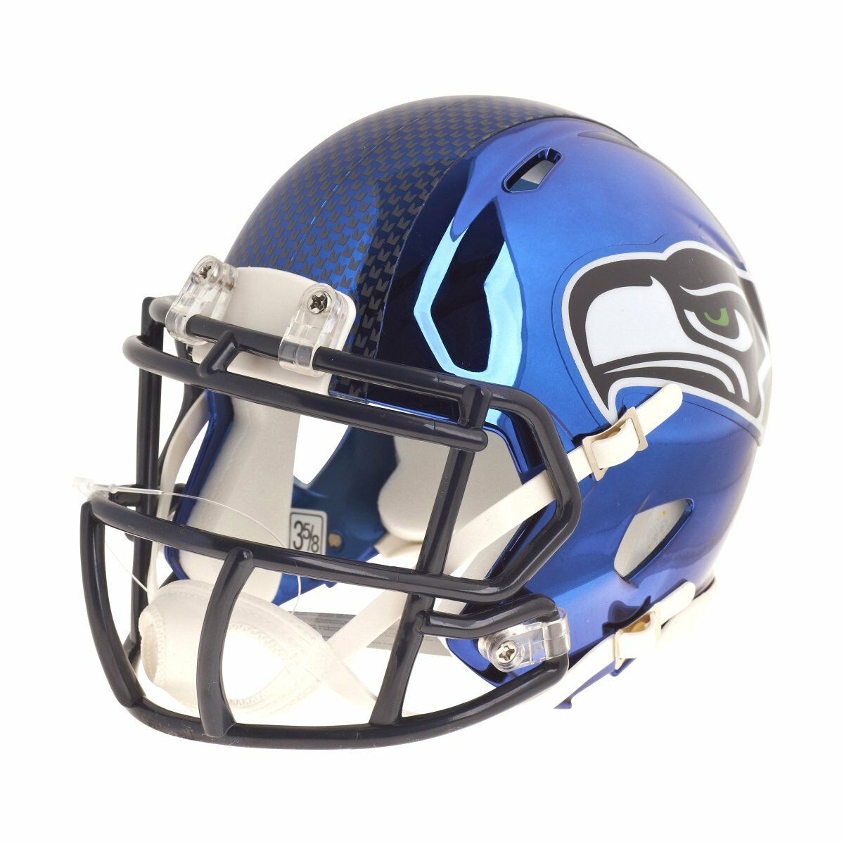 Riddell Mini Football Helm Helm Helm - NFL CHROME Seattle Seahawks 8c0926