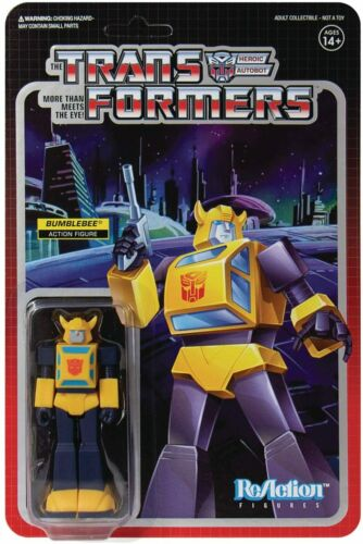 Super 7 transformateurs ReAction figurine Bumblebee