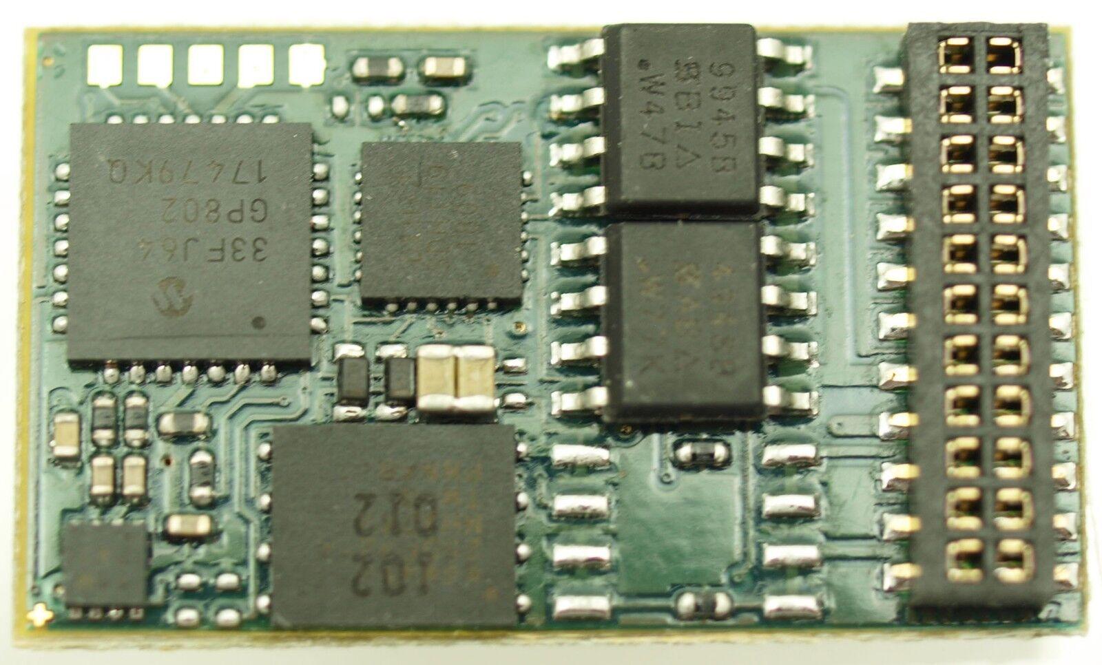 Doehler & Haass sd21a-5 veicolo sound decoder Loco DECODER SOUND MTC 21 NEM 660