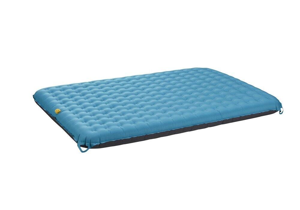 Uquip Betty Double cama de aire esterilla azul gris 200x140x15 50x22cm 2,4kg