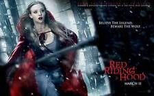 RED RIDING HOOD Movie POSTER 27x40 E Gary Oldman Amanda Seyfried Lukas Haas