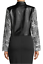 thumbnail 2 - RACHEL ROY NWT $139 Charlie Moto Jacket in Gray Floral & Black, Size M     BB32