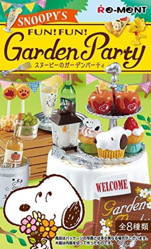 Para tu estilo de juego a los precios más baratos. Re-ment Miniatura Peanuts Snoopy Snoopy Snoopy Diversión Diverdeido Fiesta de jardín conjunto completo de 8 piezas Japón   tienda en linea