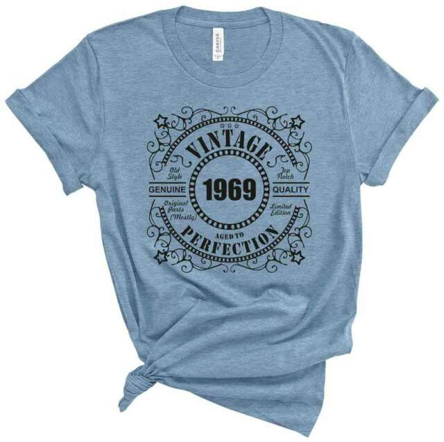 Customizable Birthday Gift T Shirt 50th Birthday 1969 51 Years Old bday tees