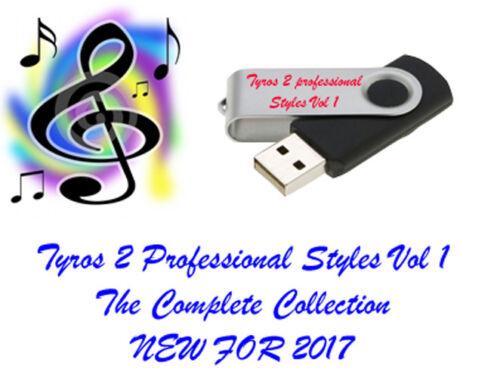 Yamaha Tyros 2 USB Memory stick Professional styles and Midi/'s