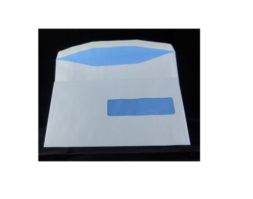 Staples DinA5 Briefumschläge mit Fenster 156 x 229mm 500 Stück Weiß NEU OVP