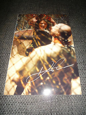 "Purposeful Kevin Rushton Signed Autographed 8x12 Inch ""land Of The Dead"" Photo Inperson Relieving Rheumatism And Cold Autographs-original Movies"