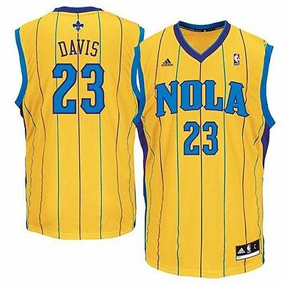 NBA Basketball Trikot/Jersey Revolution30 NEW ORLEANS PELICANS Anthony Davis #23