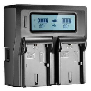 Dual-Channel-Battery-Fast-Charger-LP-E6-For-Canon-5DS-5DSR-5D2-5D3-5D4-80D-7D-6D