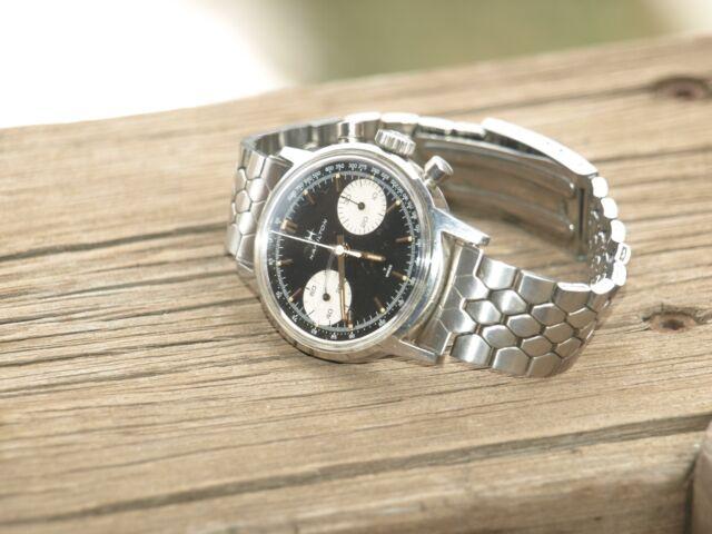 Men's Vintage working Hamilton chronograph wrist watch automatic NICE
