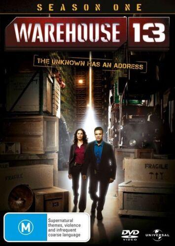 1 of 1 - Warehouse 13 : Season 1 (DVD, 2011, 4-Disc Set)