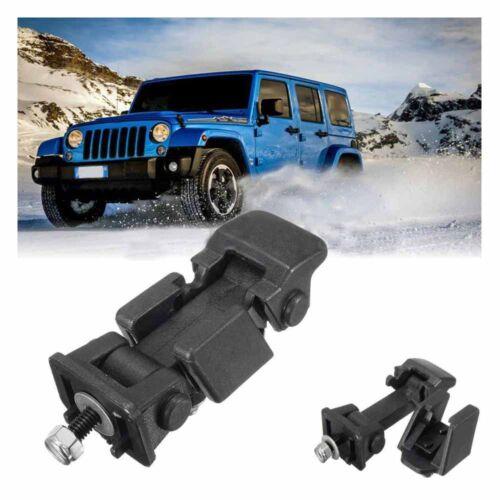1 Pair Hood Catch /& Bracket Latch for 2007-2016 Jeep Wrangler