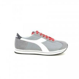 the latest 5c8fc c6bc0 Dettagli su Scarpe da uomo Diadora Vega 75073 grigio rosso sneakers  sportiva ginnastica