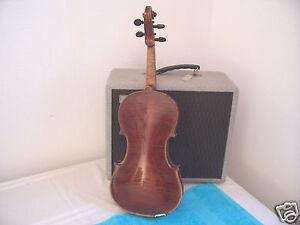 1904 Salvadora de Durro Violin Special model Antonius Stradivarius B&J  Germany