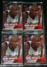 1993-94 UD RC Exchange 10 Card 4 Set Lot NEW Sealed CHRIS WEBBER PENNY HARDAWAY