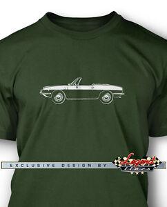Fiat-850-Spider-Convertible-Men-T-Shirt-Multiple-Colors-amp-Sizes-Italian-Car