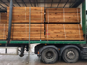 Details about New Brown Untreated Hardwood Garden Sleepers | Landscaping  2400 x 200 x 100