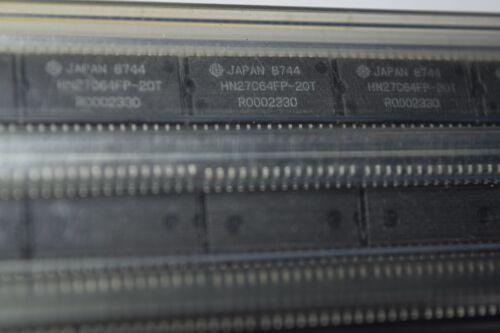 HITACHI HN27C64FP-20T 28-Pin en plastique pour SMD CMOS OTP nouveau Lot Quantité 5