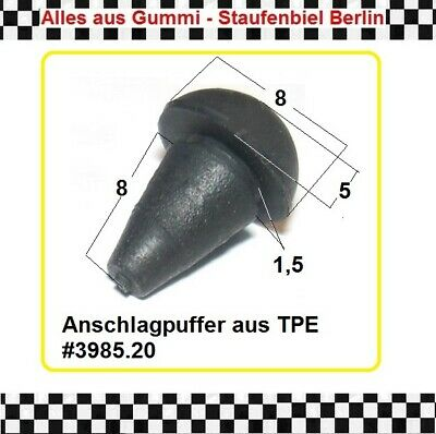 5x Anschlagpuffer Gummipuffer Gerätefuss Puffer Anschlag 3985.28  aus Berlin