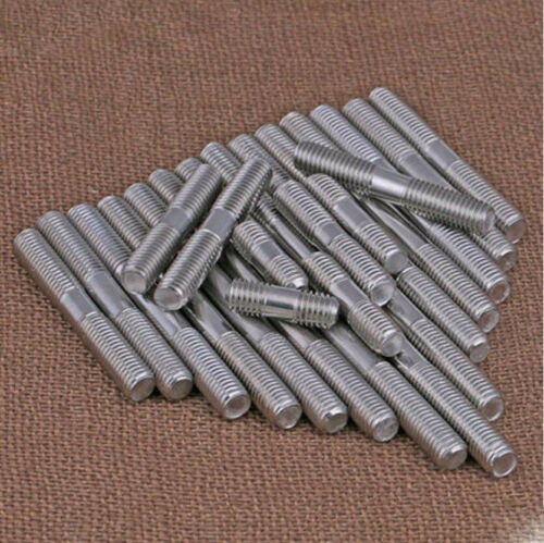 M6 M8 316 Stainless steel double end threaded rod bolt stud screw