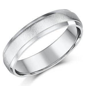 Fine Rings Silverly Anello Argento 925 Purity Purezza Banda 5 Mm