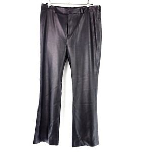 Drykorn Gr W30 Nuovo a Np alta Pantalone nero ecopelle 149 W29 donna in Vibe vita orxdCeBW