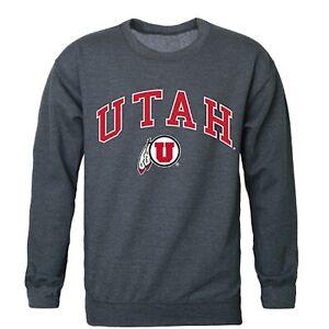 W Republic Ithaca College Campus Crewneck Pullover Sweatshirt Sweater Heather Grey