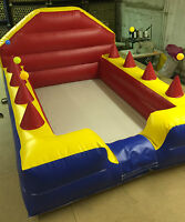 8 X 6 Ball Pool With High Back And Air Jugglers Each Side