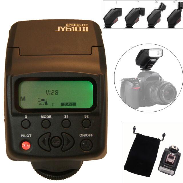 Viltrox JY-610 II On-camera Mini Speedlight Flash For Nikon Canon DSLR Camera