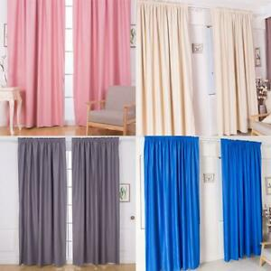 2x1m-Solid-Color-Short-Window-Curtain-Finished-Drapes-for-Living-Room-K1B