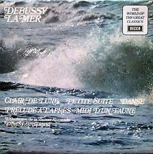 SPA 231 Debussy La Mer etc Ernest Ansermet 1972 NEAR MINT Decca Stereo LP