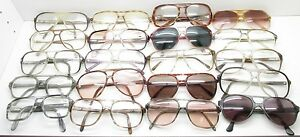 b867f0b3921c SET of 20 VINTAGE AVIATOR EYEGLASSES FRAMES plastic eyewear bulk lot ...
