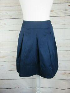 Jupe-bleu-plissee-Camaieu-en-tres-bon-etat-taille-40-FR