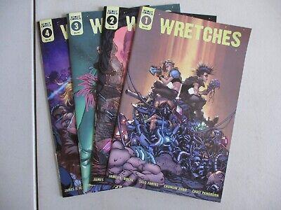 WRETCHES #1 SCOUT COMICS EB57