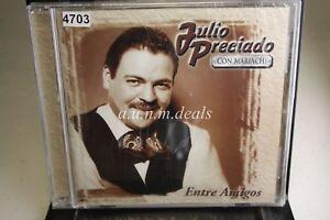 Julio-Preciado-Entre-Amigos-2001-Music-CD-NEW