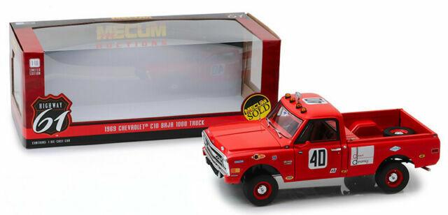 1:18 Highway 61 Chevrolet c10 pick up baja 1000 1969 red