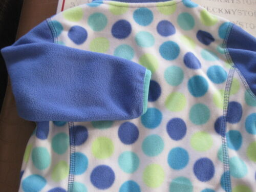 NEW Free Country Girls Snap Fleece Pullover BLUE KIMONO Girl/'s