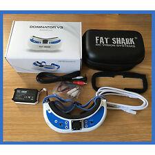FatShark-Dominator V3 modular FPV Headset Goggles Fat Shark FSV1063 - OPEN BOX