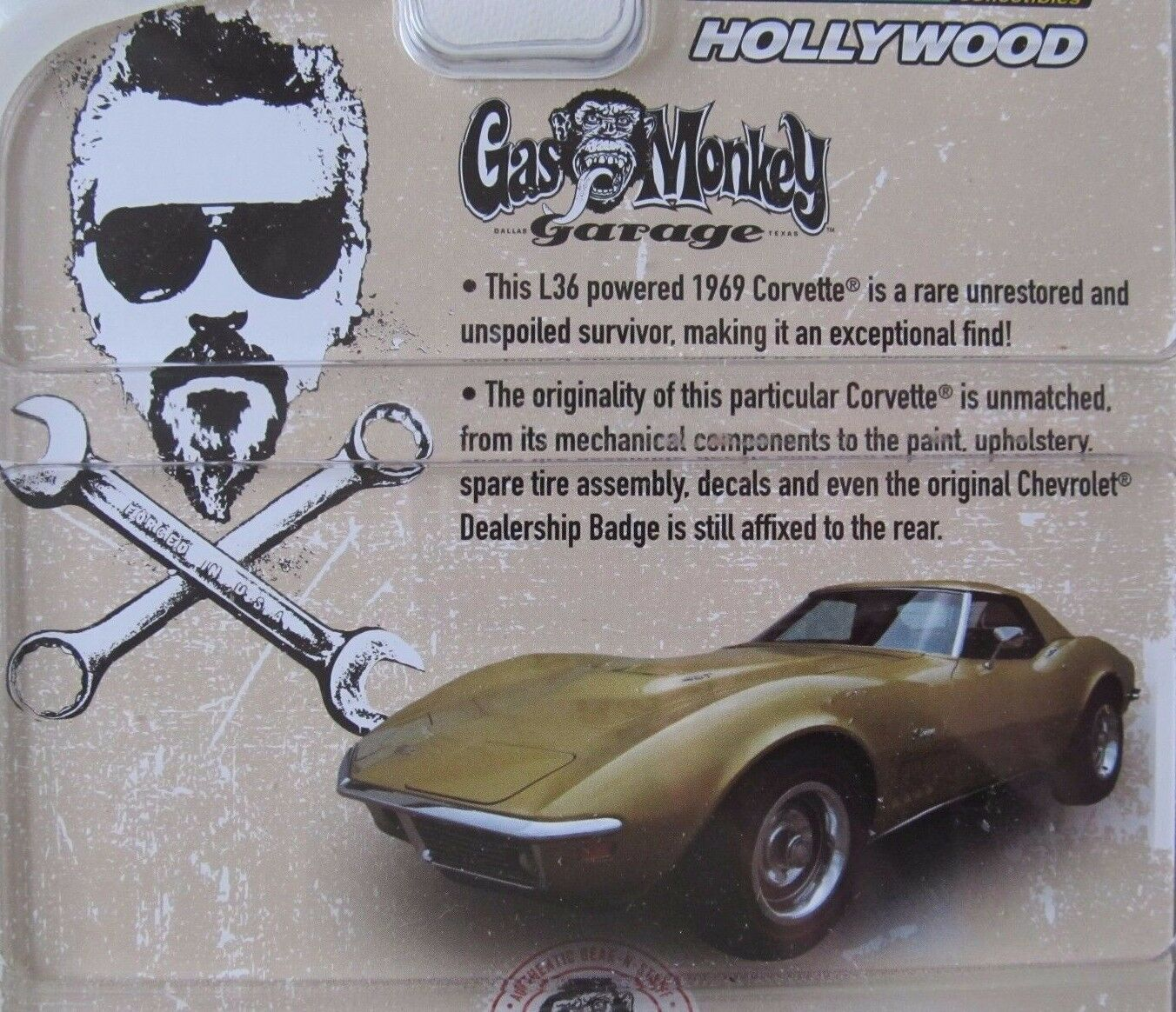 Gas Monkey Garage 1969 Chevrolet Corvette verdelight verdelight verdelight Hollywood serie 12 1 64 66e62a