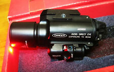 Tactical X400 Weapon light Flashlight+Red Laser Combo High Ouput LED For Airsoft