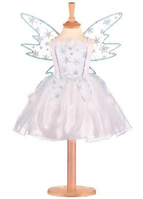 'frozen Da Fata 'bianco Blu Costume Travestimento Settimana Del Libro - 3/5 Anni