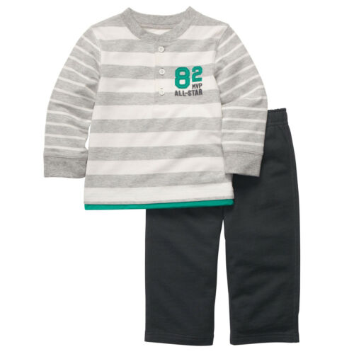 CARTER/'S BOY/'S 2 PIECE ALL STAR STYLE LONG SLEEVE TOP AND PANT SET