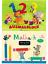 Malbuch-Malblock-1-2-3-Zahlen-Tiere-Malstifte-Einschulung-DIN-A7-Gratz-Verlag miniatura 1